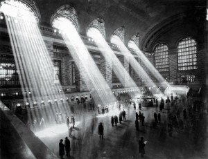 Grand Central Station, NYC, 1929 - By Hal Morey